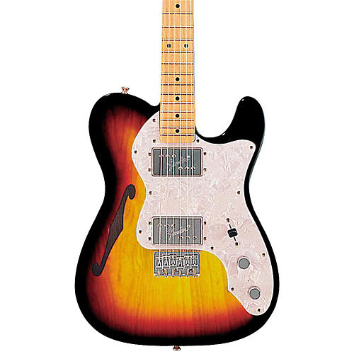 510474000064000 00 500x500 fender classic series '72 telecaster thinline electric guitar  at eliteediting.co