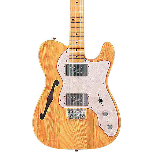 Fender Classic Series '72 Telecaster Thinline Electric Guitar Natural