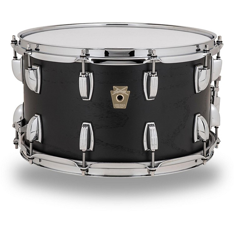 Ludwig classic series hybrid black oak shell snare drum 14 for Classic house drums