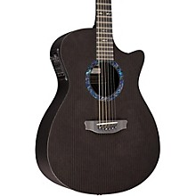 RainSong Classic Series OM1000N2 Acoustic-Electric Guitar Black