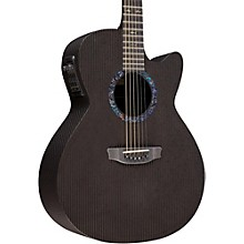 RainSong Classic Series WS1000N2 Acoustic-Electric Guitar Black