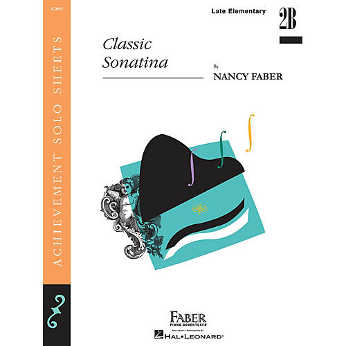 Faber Piano Adventures Classic Sonatina (Late Elem Level Piano Solos) Faber Piano Adventures® Series by Nancy Faber-thumbnail