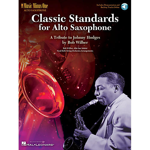 Music Minus One Classic Standards for Alto Saxophone Music Minus One Series Book with CD Written by Bob Wilber-thumbnail
