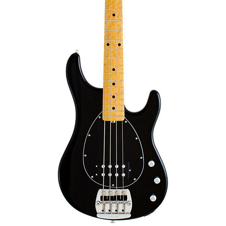 Music Man Classic Sterling 4 Electric Bass Guitar Black Maple Fretboard with Birdseye Maple Neck