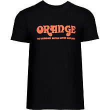 Orange Amplifiers Classic T-Shirt Black XXX Large
