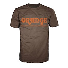Orange Amplifiers Classic T-Shirt Brown X Large