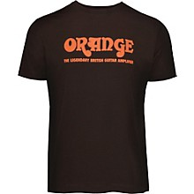Orange Amplifiers Classic T-Shirt Brown XXX Large