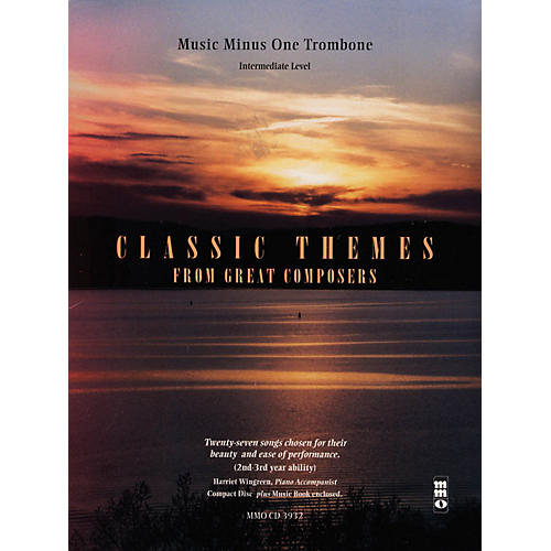 Music Minus One Classic Themes from Great Composers Music Minus One Series Softcover with CD Composed by Various-thumbnail