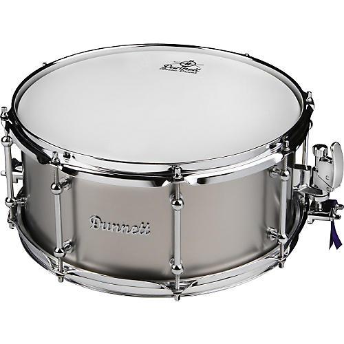 Dunnett Classic Titanium Snare Drum Raw 6.5x14