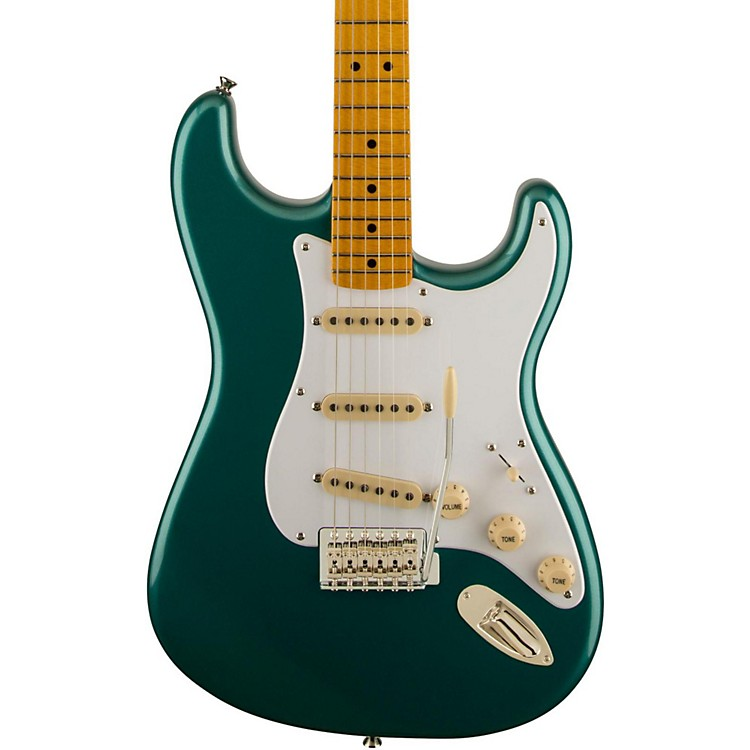 Squier Classic Vibe Stratocaster '50s Electric Guitar Sherwood Green Metallic