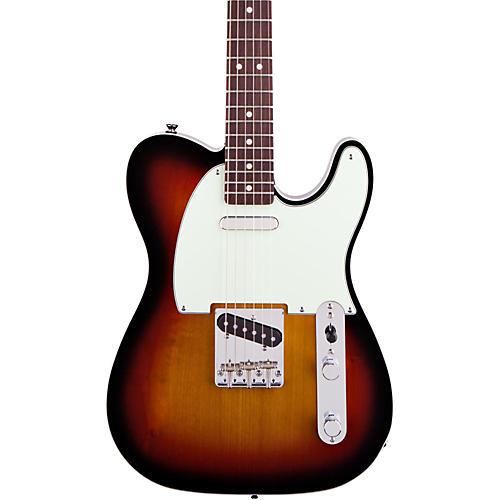 Squier Classic Vibe Telecaster Custom Electric Guitar Three-Tone Sunburst