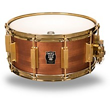 WFLIII Drums Classic Wood Mahogany Snare Drum with Gold Hardware