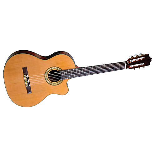 Jay Turser Classical Acoustic-Electric Cutaway Guitar