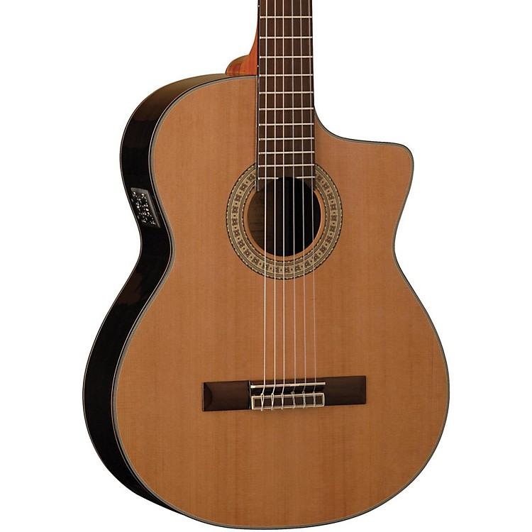 WashburnClassical Acoustic Electric GuitarNatural Gloss