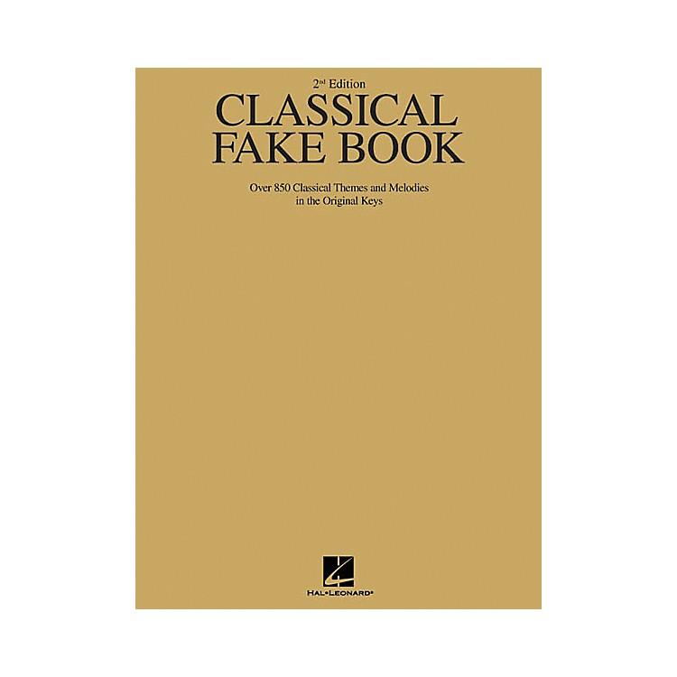 Hal LeonardClassical Fake Book - 2nd Edition