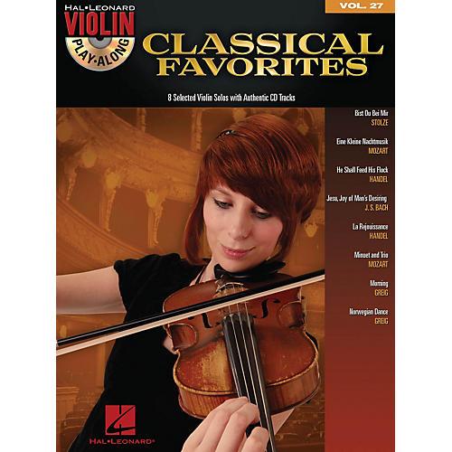 Hal Leonard Classical Favorites - Violin Play-Along Volume 27 Book/CD-thumbnail