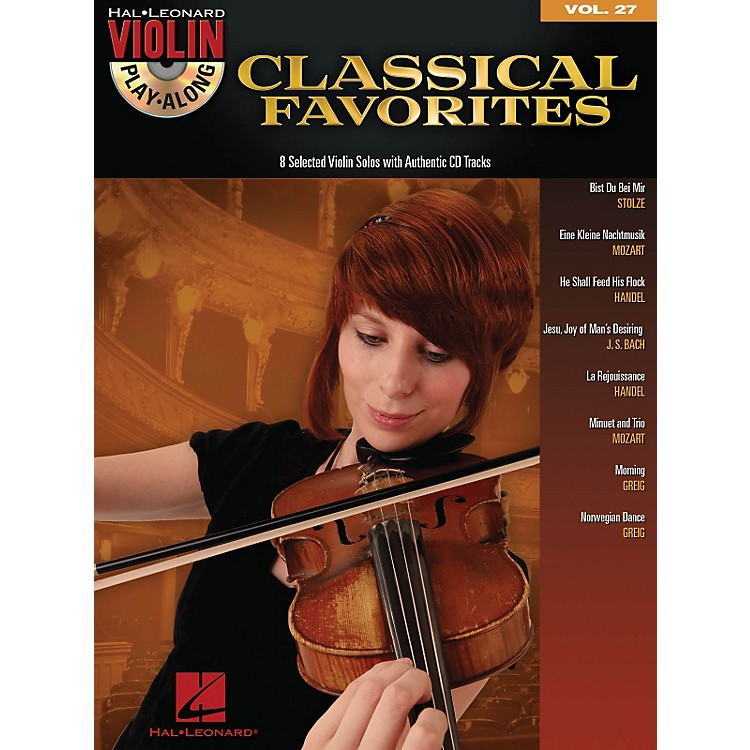 Hal Leonard Classical Favorites - Violin Play-Along Volume 27 Book/CD