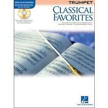 Hal Leonard Classical Favorites Trumpet Book/CD Instrumental Play-Along