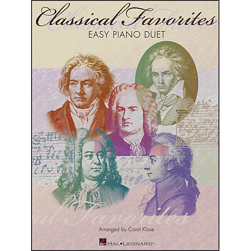 Hal Leonard Classical Favorites for Easy Piano Duet