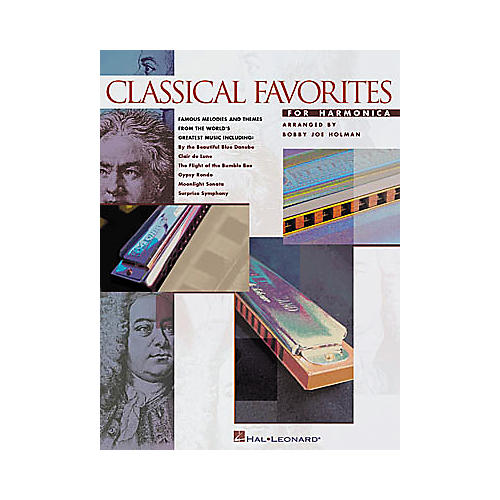 Hal Leonard Classical Favorites for Harmonica Songbook