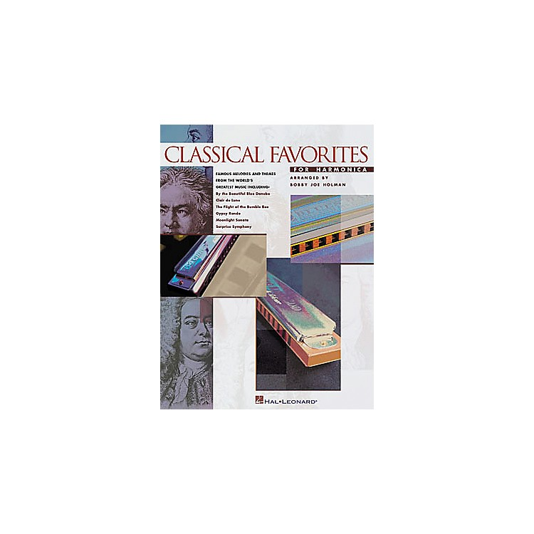 Hal LeonardClassical Favorites for Harmonica Songbook