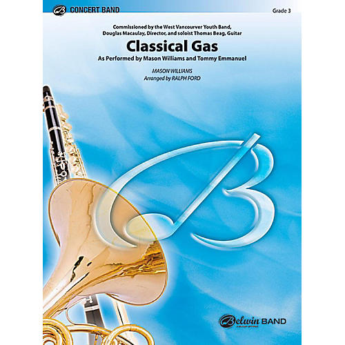 Alfred Classical Gas Concert Band Level 3 Set