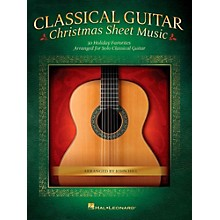 Hal Leonard Classical Guitar Christmas Sheet Music (No Tab)