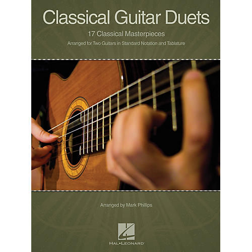 Hal Leonard Classical Guitar Duets (17 Classical Masterpieces) Guitar Collection Series Softcover-thumbnail