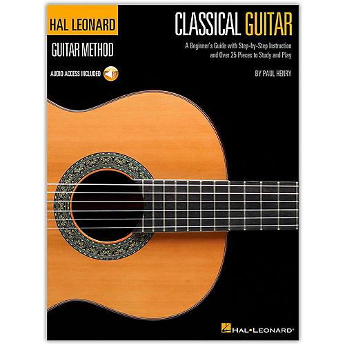 Hal Leonard Classical Guitar Guitar Method (Book/Online Audio)-thumbnail
