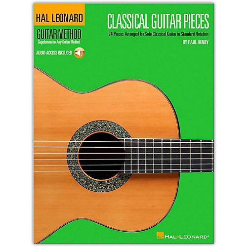 Hal Leonard Classical Guitar Pieces - The Guitar Method Supplement (Book/Online Audio)-thumbnail