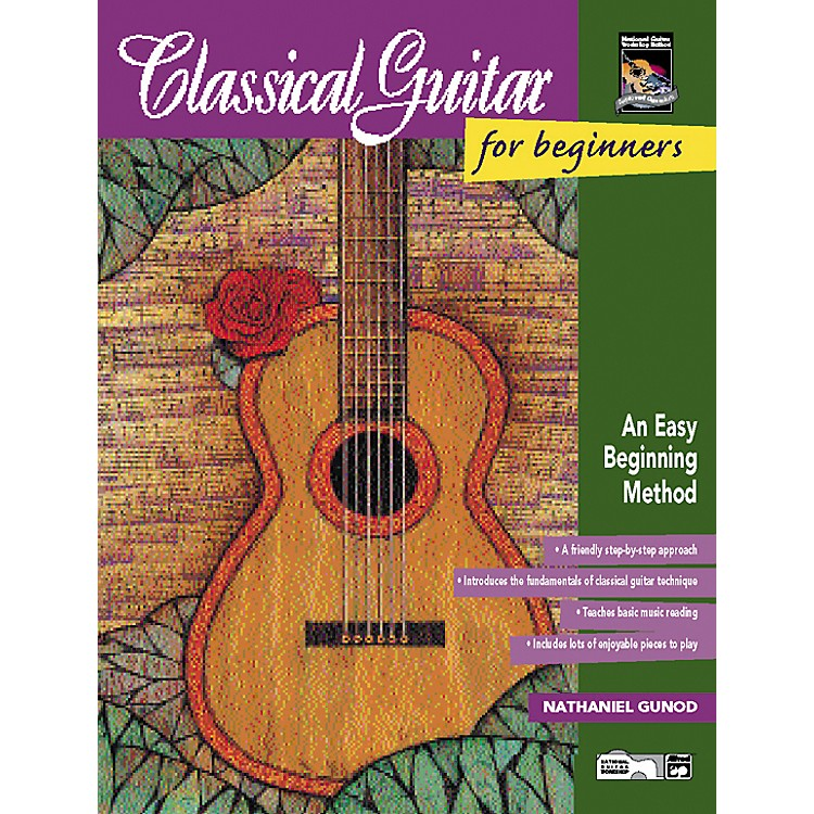Alfred Classical Guitar for Beginners Book/CD