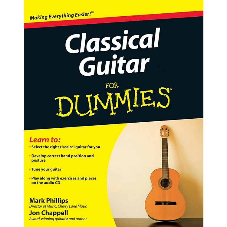Mel Bay Classical Guitar for Dummies  Book/CD Set