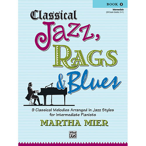 Alfred Classical Jazz Rags & Blues Book 2 Piano-thumbnail