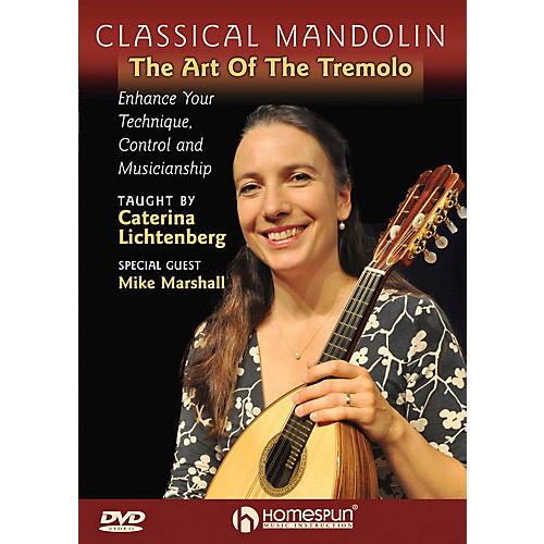 Homespun Classical Mandolin - The Art of the Tremelo Homespun Tapes Series DVD Performed by Caterina Lichtenberg-thumbnail