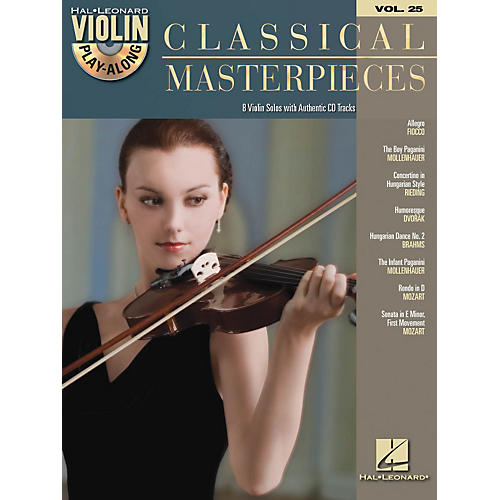 Hal Leonard Classical Masterpieces - Violin Play-Along Volume 25 Book/CD