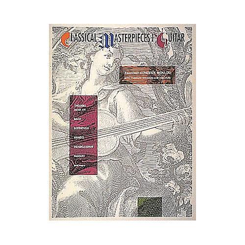 Hal Leonard Classical Masterpieces for Guitar Book-thumbnail