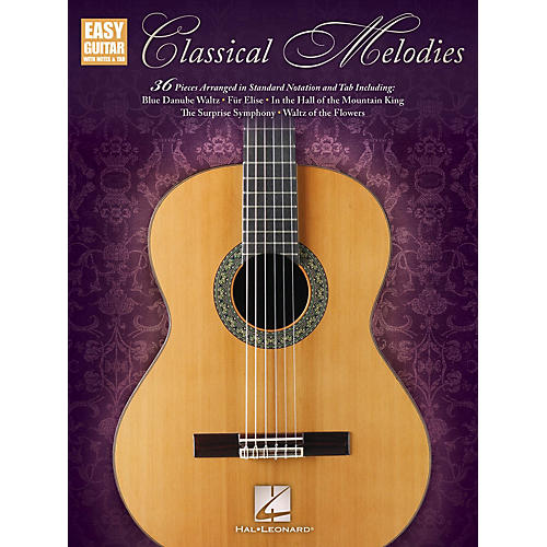 Hal Leonard Classical Melodies (Easy Guitar with Notes & Tab) Easy Guitar Series Softcover-thumbnail