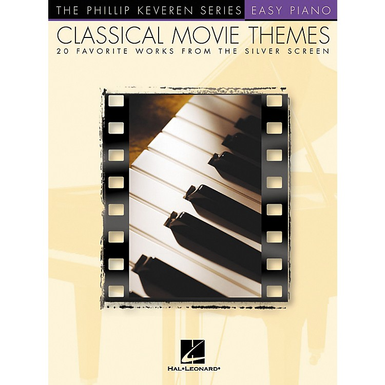 Hal LeonardClassical Movie Themes - 20 Favorite Works From Silver Screen Phillip Keveren Series For Easy Piano