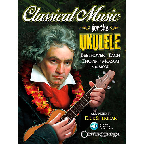 hal leonard classical music for the ukulele book cd musician 39 s friend. Black Bedroom Furniture Sets. Home Design Ideas