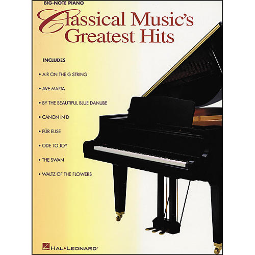 Hal Leonard Classical Music Greatest Hits for Big Note Piano