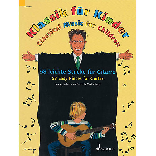 Schott Classical Music for Children (58 Easy Pieces for Guitar) Guitar Series Softcover-thumbnail