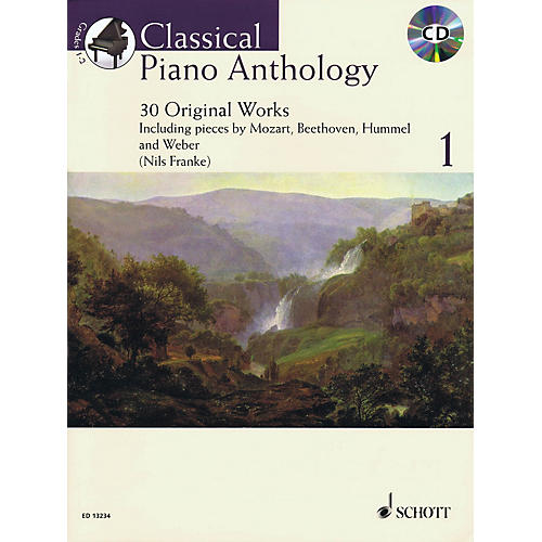 Schott Classical Piano Anthology, Vol. 1 (30 Original Works) Schott Series Softcover with CD by Nils Franke