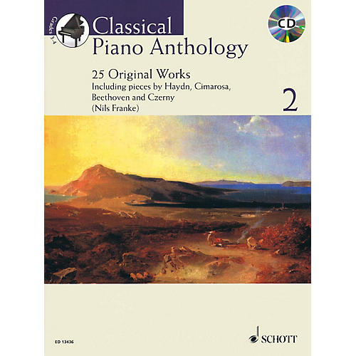Schott Classical Piano Anthology, Vol. 2 Schott Softcover with CD Composed by Various Edited by Nils Franke-thumbnail