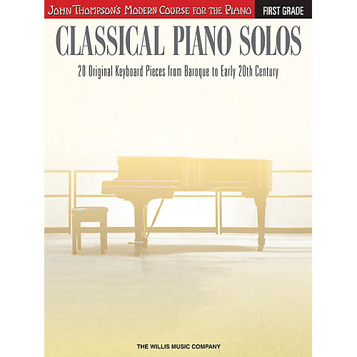 Willis Music Classical Piano Solos - First Grade Willis Series Book by Various (Level Early to Later Elem)-thumbnail