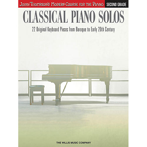 Willis Music Classical Piano Solos - Second Grade Willis Series Book by Various (Level Late Elem to Early Inter)