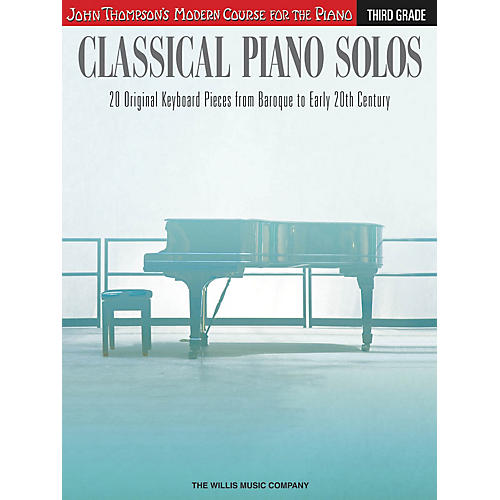 Willis Music Classical Piano Solos - Third Grade Willis Series Book by Various (Level Inter)-thumbnail