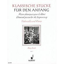 Schott Classical Pieces for the Beginner - Volume 2 (Violoncello and Piano) Schott Series