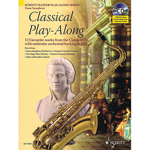 Schott Classical Play-Along Instrumental Play-Along Series Book with CD-thumbnail