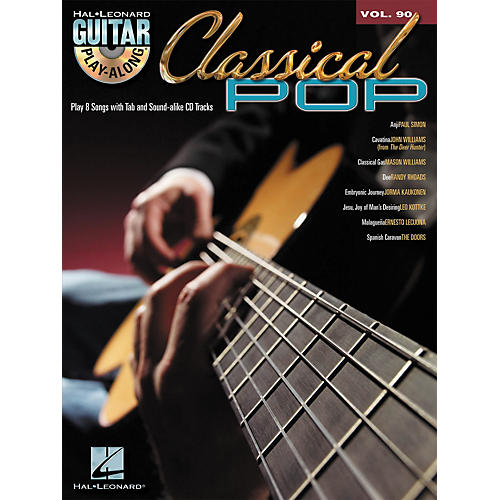 Hal Leonard Classical Pop - Guitar Play-Along Volume 90 (Book/CD)