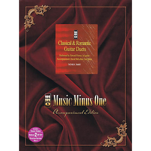 Music Minus One Classical & Romantic Guitar Duets (Deluxe 2-CD Set) Music Minus One Series Softcover with CD-thumbnail